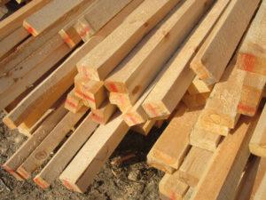 Деревянная рейка от компании Лес Архангельска